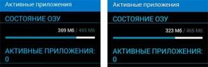 Сравнение потребления ОЗУ лаунчеров TouchWi и Nova